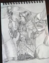 Goblin Warlock by tachypnoe