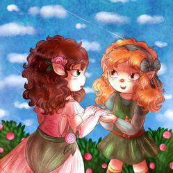 Childhood Friends by Jrynkows