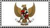 Garuda Indonesia Stamp by SR-Soumeki