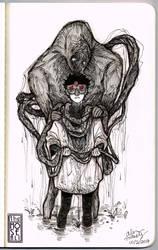 Inktober #1: We Meet Again, My Old Friend by TheMoseali