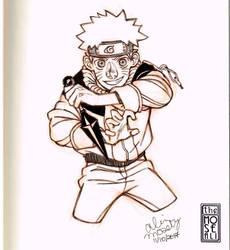 Uzumaki Naruto by TheMoseali