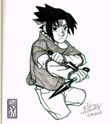Uchiha Sasuke by TheMoseali