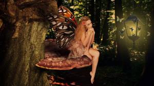 Woodland Fairy by kado897