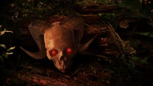 Horned Skull by kado897