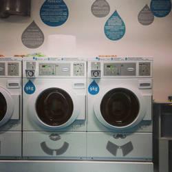 doing laundry. by hnji