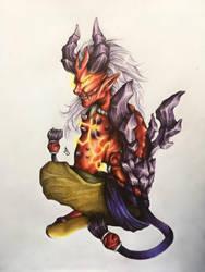 Soul Eater Jenos by Taffye