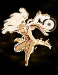 Naruto mod Kyubi Hokage by DarkAlx