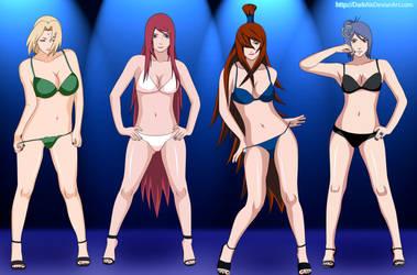 Naruto Girls 2012 by DarkAlx