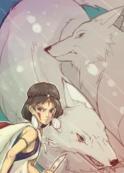 Princess Mononoke by Jeongkuk