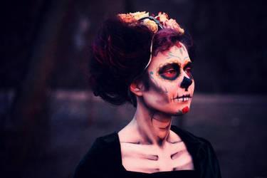 death goddess by LuciKoshkina