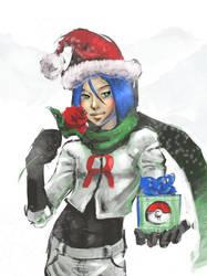 Merry Christmas by i-am-MOKEY