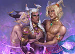 Jealous Genie Gang by i-am-MOKEY