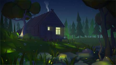 House2 Night by prusakov