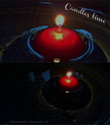 Candles time by muhehehahaha