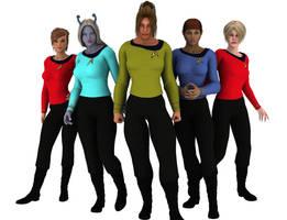 More Trek girls by ciboraven