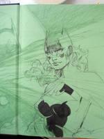 Batgirl in 6 easy steps STEP 3 by jimlee00