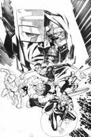 WS Fantastic Four Art Jam by jimlee00