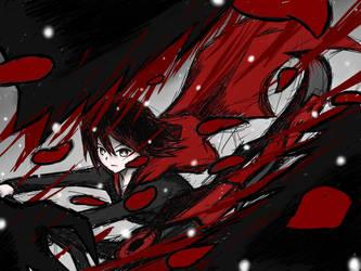 RWBY Ruby Red by AznSketch42