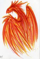 Phoenix by jdragontamer
