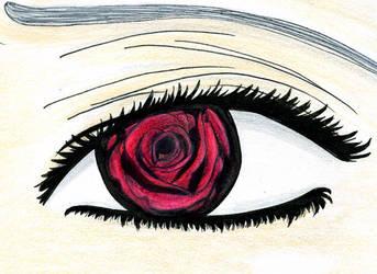 Rose-Eyed by jdragontamer
