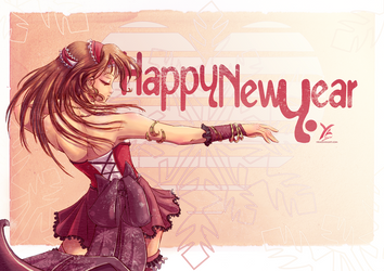 I wish you... A happy new year ! by yrialinsight