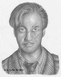 Remus Lupin (with scars) by PotionsTeddy