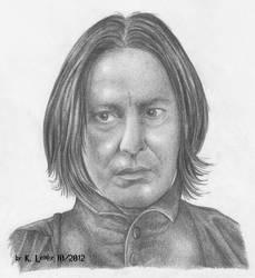 Severus Snape by PotionsTeddy
