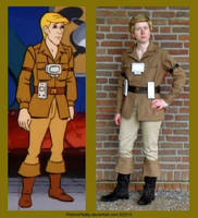 Filmation's Ghostbusters - Double Jake by PotionsTeddy