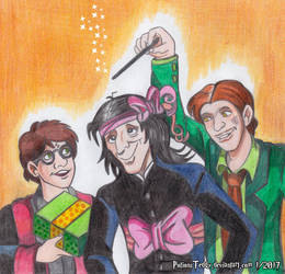 Enjoy your Birthday, Severus! by PotionsTeddy