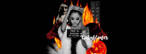BAD ARIANA/Ariana Grande by GABYEDITIONS08