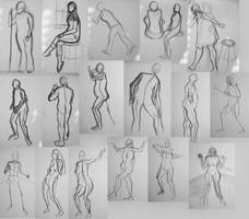 Figure Drawing Class '07 by sedge