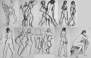 Figure Drawing Class 2-08 No.1 by sedge