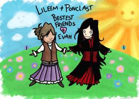 Lileem + Ponclast: BFF by sedge