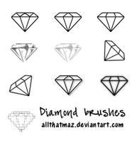 Diamond Brushes - Image Pack by allthatmaz