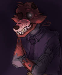 Another Fox-Mike For the Record by Lily-The-Random
