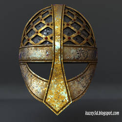 Viking Helmet by Kuzey3d