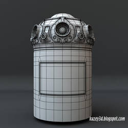 Star Wars Droid  wip by Kuzey3d