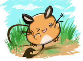 Dedenne -Pokemon X/Y by Cosmicsnivy