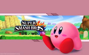 Kirby Wallpaper - Super Smash Bros. Wii U/3DS by AlexTHF