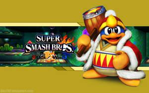 King Dedede Wallpaper- Super Smash Bros. Wii U/3DS by AlexTHF