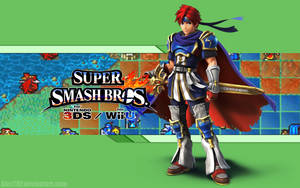 Roy Wallpaper - Super Smash Bros. Wii U/3DS by AlexTHF