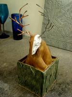 Ceramic Deer 3 by Ayzlyn
