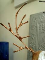 Ceramic Deer 1 by Ayzlyn
