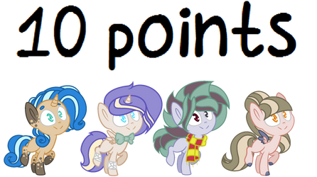 MLP Adopt OPEN [10 points] - 1/4 by Turquoisecharcoal