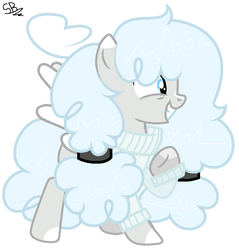 [G] This guy looks like a cloud! by Turquoisecharcoal