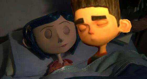 Norman And Coraline Kiss