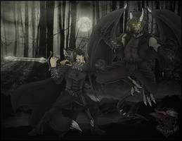 Trade - Epic Battle Between Foes by SadisticJackal