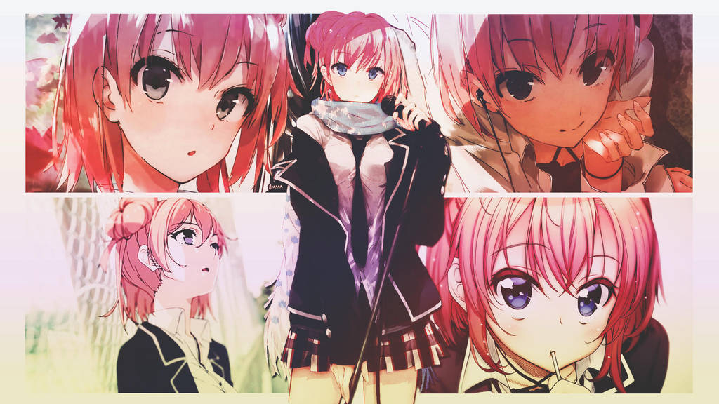 Yui Yuigahama Wallpaper By Dinocozero On Deviantart