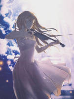 Kaori Miyazono Signature 2 by Dinocojv