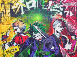 Heroes? --- Boku no Hero Academia by DinocoZero